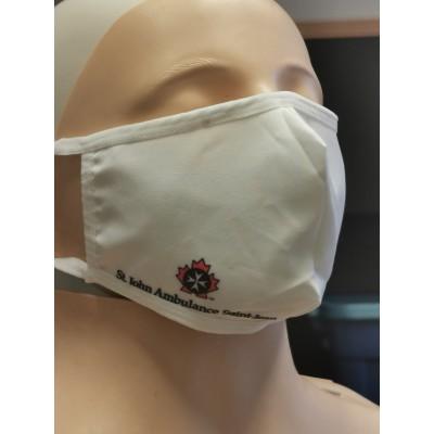 Masque lavable - Blanc